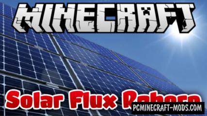 Solar Flux Reborn Mod For Minecraft 1.12.2, 1.11.2, 1.10.2