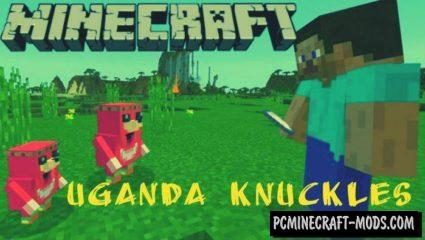 Uganda Knuckles Quest Minecraft PE Bedrock Map 1.2.11, 1.2.10