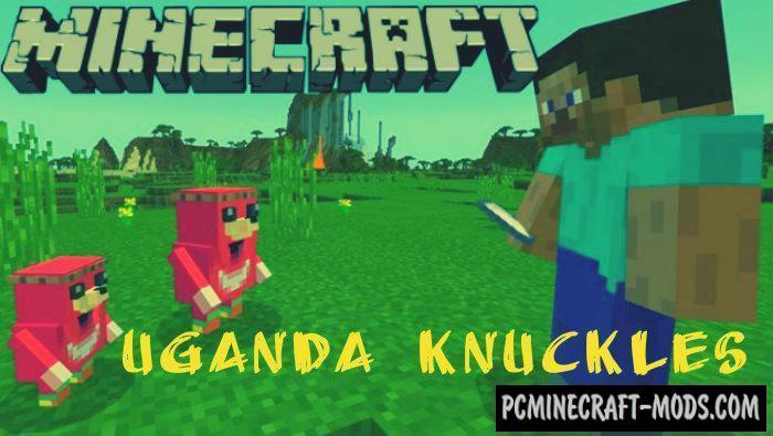 Uganda Knuckles Quest Minecraft PE Bedrock Map 1.4.0, 1.2.13