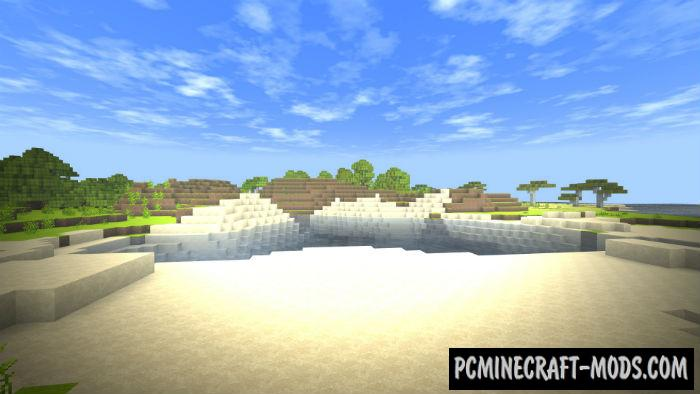 Windows 10 Shaders Pack Minecraft PE Bedrock Mod 1.9.0, 1.7.0