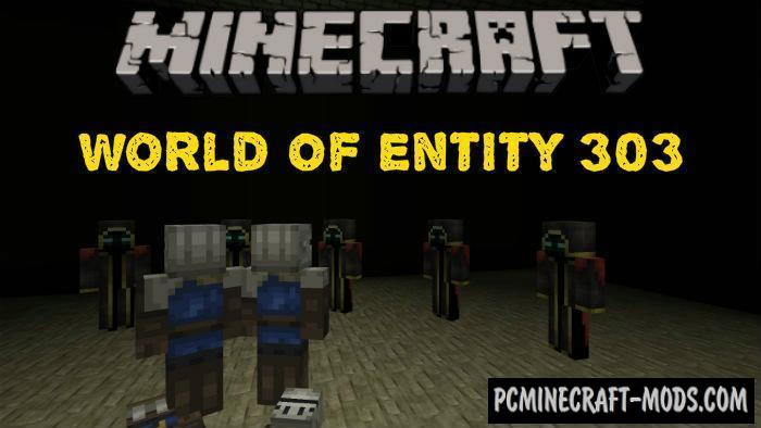 World Of Entity 303 Adventure Minecraft PE Map 1.5.0, 1.4.0