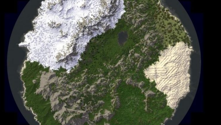 The World for Survival Map For Minecraft