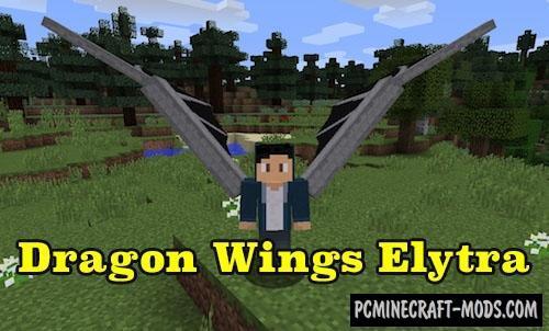 DragonWingsElytra - Decor Armor Mod For Minecraft 1.12.2