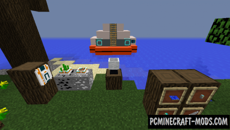 Subnauticraft - Tech Mod For Minecraft 1.15.2, 1.12.2