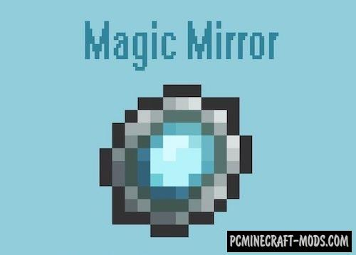 Magic Mirror - Teleport Mod For Minecraft 1.14.4, 1.12.2