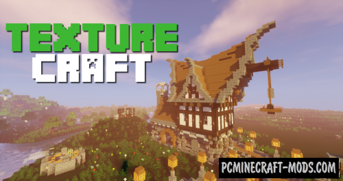 TextureCraft 16x16 Resource Pack For Minecraft 1.14.4, 1.14.3