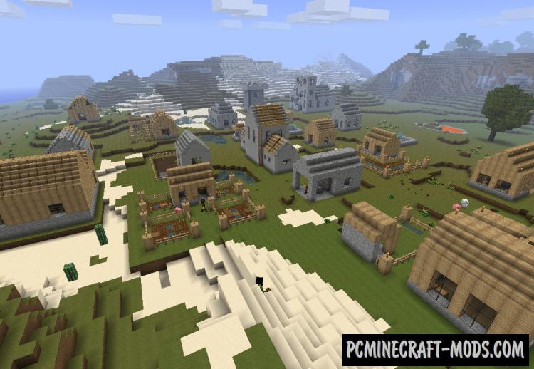 Millenaire Mod For Minecraft 1.12.2, 1.7.10