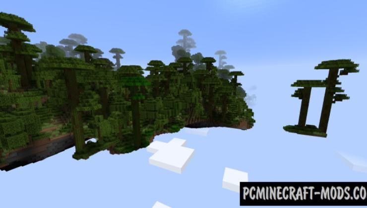 Sky Islands - Generation Mod For Minecraft 1.12.2, 1.10.2