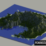 The Isolated Crag Map For Minecraft