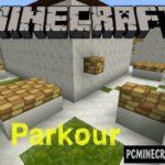 Speedrun Parkour Minecraft PE Bedrock Map 1.2.11, 1.2.10