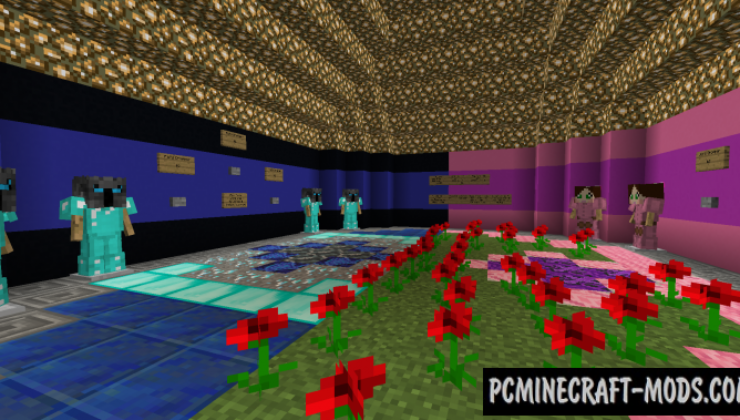 Pat and Jen Dropper Map For Minecraft