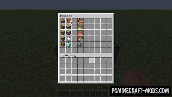 Extended Inventory - Tools Mod For Minecraft 1.12.2