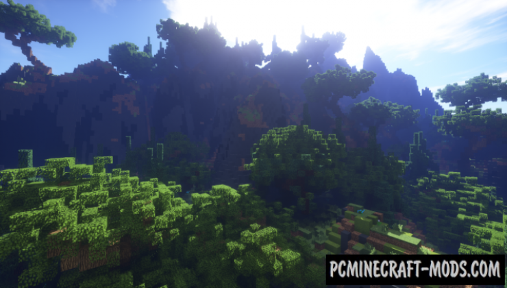 A Forest Landscape - Terrain. Surv Map For Minecraft