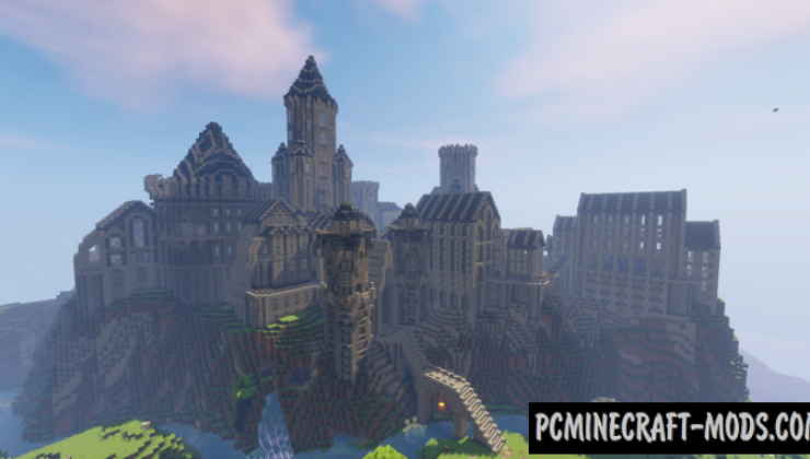 Castle IV Map For Minecraft
