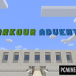 Resort Parkour Map For Minecraft