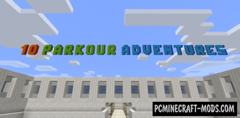 10 Parkour Adventures Map For Minecraft