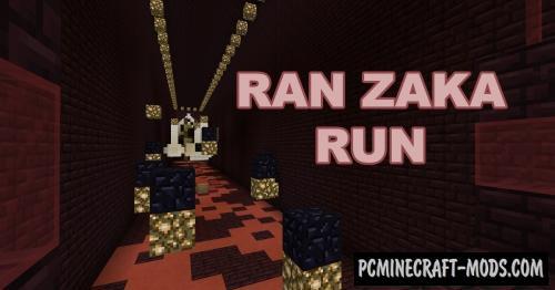 Ran Zaka Run - Parkour Map For Minecraft