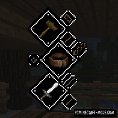 Tetra - PRG System HUD Mod For Minecraft 1.14.4, 1.12.2
