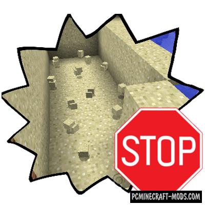 Pretty Beaches - Survival Mod For Minecraft 1.16.3, 1.15.2