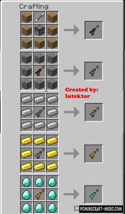 Grapple Hooks - Tool Mod For Minecraft 1.16.5, 1.11.2, 1.10.2