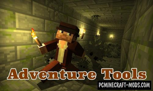 Adventure Tools - Items Mod For MC 1.16.1, 1.15.2, 1.14.4, 1.12.2