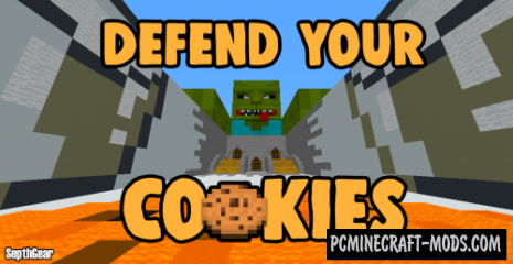 Defend Your Cookies Map For Minecraft