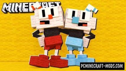 Cuphead Mashup Resource Pack For Minecraft 1.12.2
