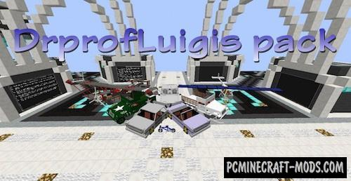 Dr_prof_Luigi's Content Pack Mod For Minecraft 1.12.2, 1.8, 1.7.10