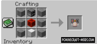 Inventory Coal Generator Mod For Minecraft 1.12.2
