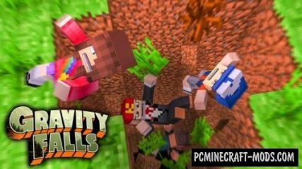 GravityFalls Mod For Minecraft 1.12.2