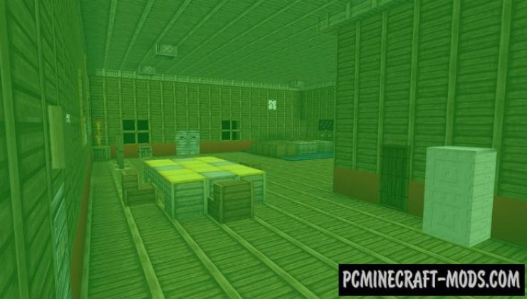 Late Night at the Mansion Horror MCPE Map 1.5.0, 1.4.0, 1.2.13
