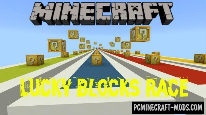 Lucky Blocks Race Mini-Game Minecraft PE Map 1 4 0, 1 2 13