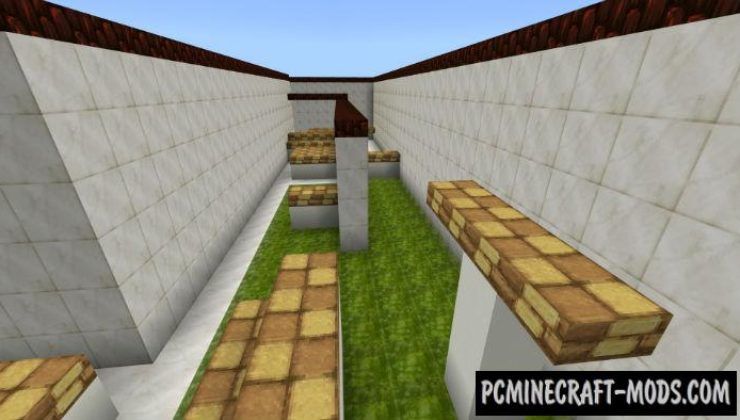 Mini Parkour Minecraft PE Bedrock Map 1.5.0, 1.4.0, 1.2.13