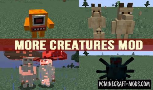 Even More Creatures - Mobs Mod For Minecraft 1.12.2