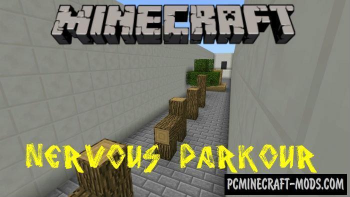 Nervous Parkour Minecraft PE Map 1.4.0, 1.2.13