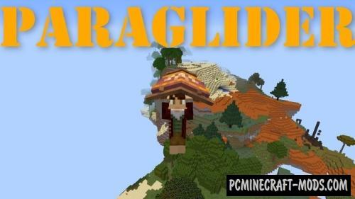 Paragliders - Vehicle Mod For Minecraft 1.16.2, 1.15.2, 1.14.4, 1.12.2