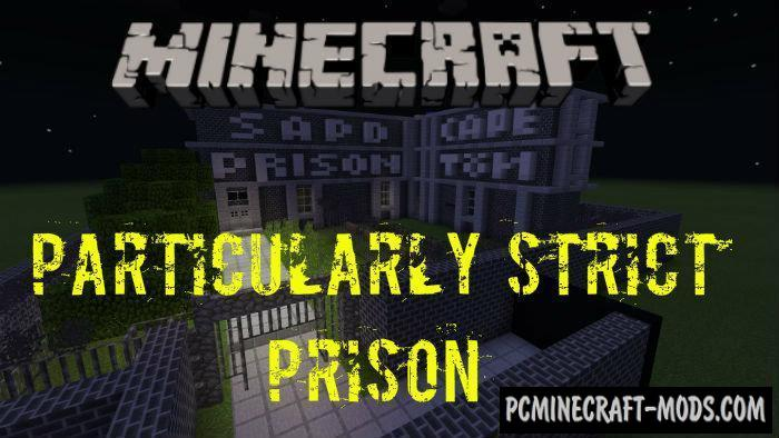 Particularly Strict Prison - Escape MCPE Map 1.5.0, 1.4.0, 1.2.13