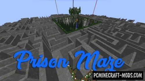 Prison Maze - Adventure, PvE Map For Minecraft