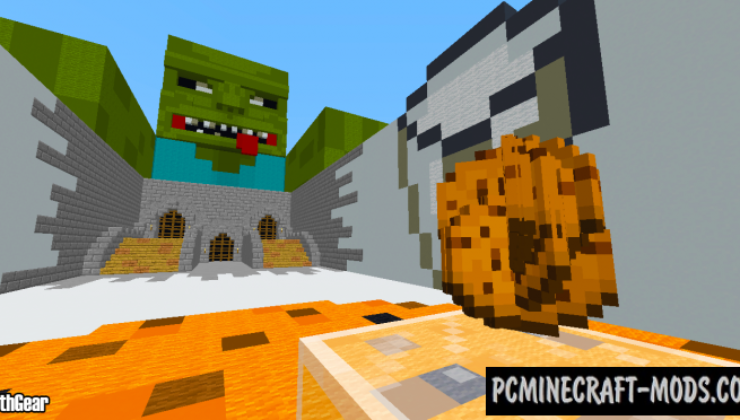 Defend Your Cookies - Minigame Map For Minecraft