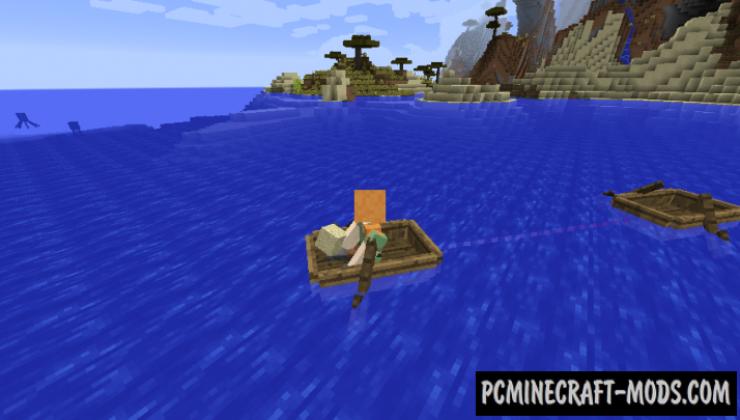 Entity Spring - Mech Mod For Minecraft 1.15.2, 1.14.4