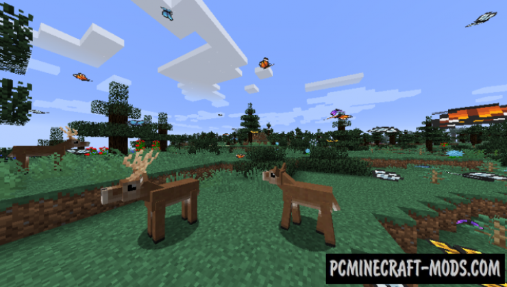 Familiar Fauna Mod For Minecraft 1.12.2