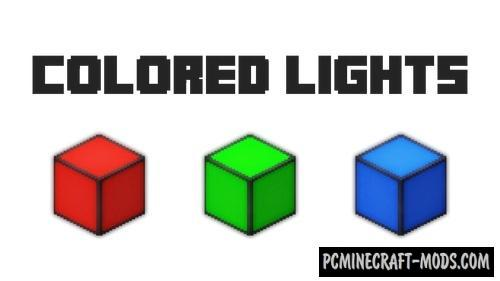 Colored Lights - Decor LED Mod For Minecraft 1.12.2