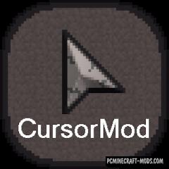 Cursor Mod For Minecraft 1.13.2, 1.12.2, 1.11.2, 1.10.2