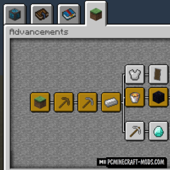 Better Advancements Mod For Minecraft 1.12.2, 1.12