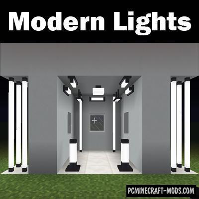 Modern Lights - Decor Mod For Minecraft 1.12.2, 1.10.2