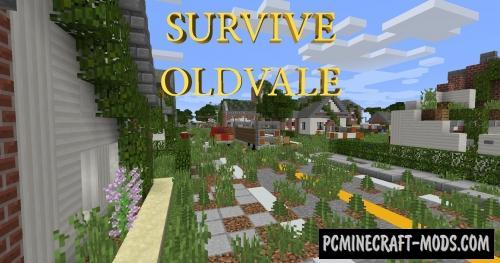 Survive Oldvale Map For Minecraft
