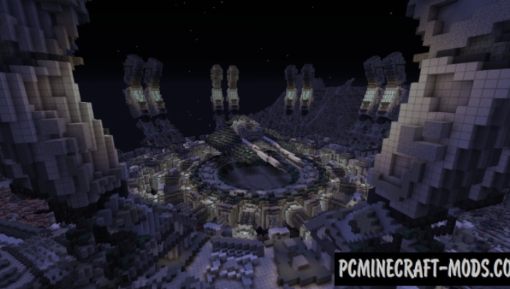 Hermes C319 Space Station - Castle Map For MC