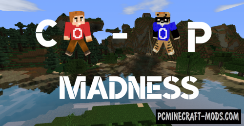 Co-op Madness - Finding, Puzzle Map For Minecraft