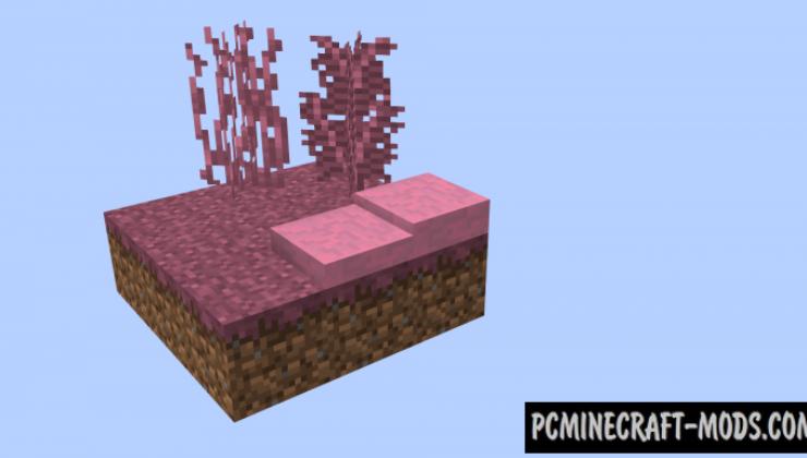 Chromatic Foliage - Decor Mod For Minecraft 1.12.2