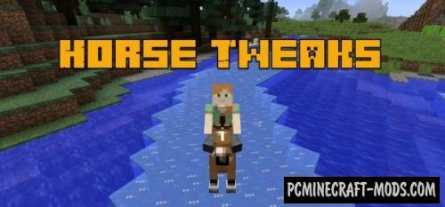 Horse Tweaks Mod For Minecraft 1.12.2